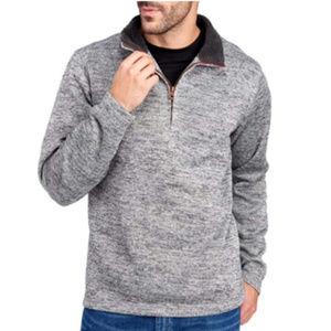 Weatherproof Vintage Men's ¼ Zip Sweater Fleece